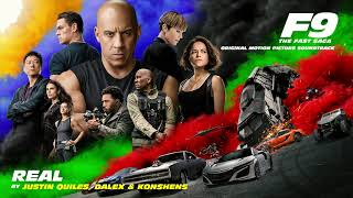 Justin Quiles, Dalex & Konshens - Real (Official Audio) [from F9 - The Fast Saga Soundtrack]