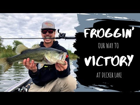 Frog Fishing Decker Lake (tournament Series 3)