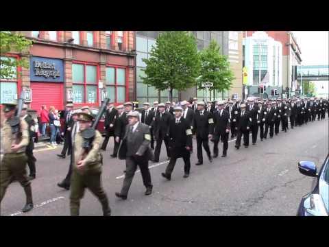 36th Ulster Division Mem Association Parade Belfast 9/5/2015 (Part2)