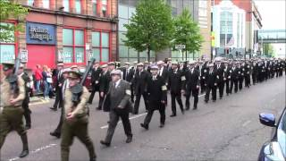 36th Ulster Division Mem Association Parade Belfast 9/5/2015 (Part2)