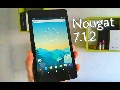 Nexus 7 Android 7.1.2 Nougat crDroid ROM v3.2