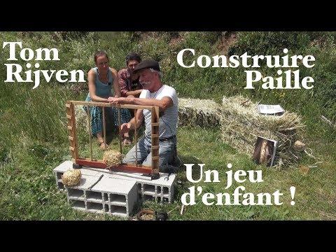 Tom Rijven : Construire sa maison en paille...est un jeu d'enfant ! Épisode 1- www.regenere.org