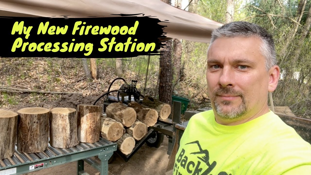 My New Firewood Processing Station