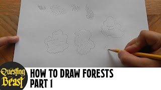Quest Atlas - How to Draw Forests