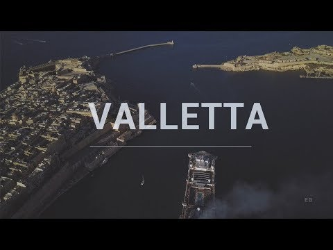 VALLETTA - 4K | Valletta 2018 European Capital of Culture