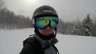 Ski VLOG à Mont Tremblant - 6 février 2017 - GoPro