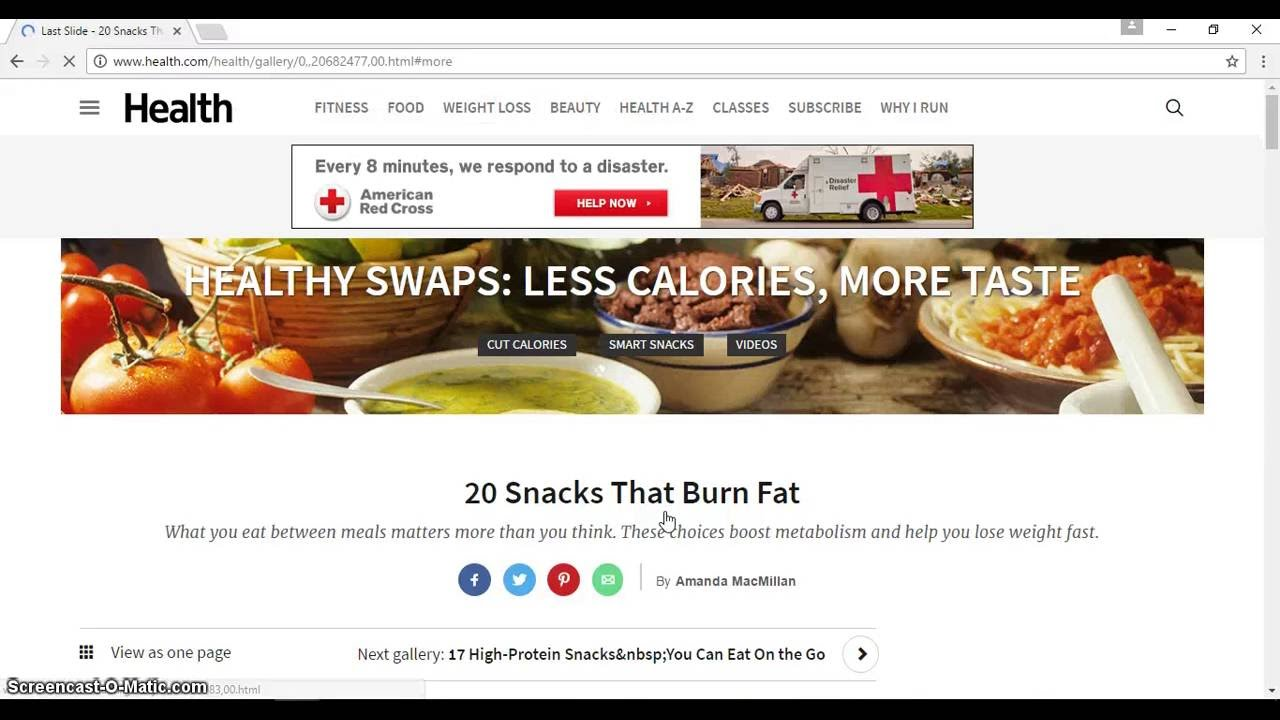 20 Snacks That Can Burn Fat