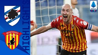 Sampdoria 2-3 Benevento | Newly Promoted Benevento Comeback to Win on Opening Day ! | Serie A TIM