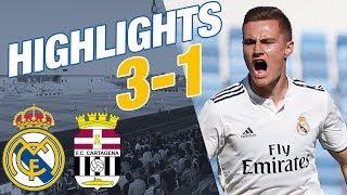 HIGHLIGHTS | Real Madrid Castilla 3-1 Cartagena