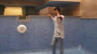 Ping pong trick shots BLOOPERS