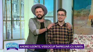 Andrei Leonte, videoclip impreuna cu iubita