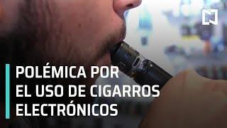 Cigarro electrónico; polémica por el uso de cigarros electrónicos - En Punto con Denise Maerker
