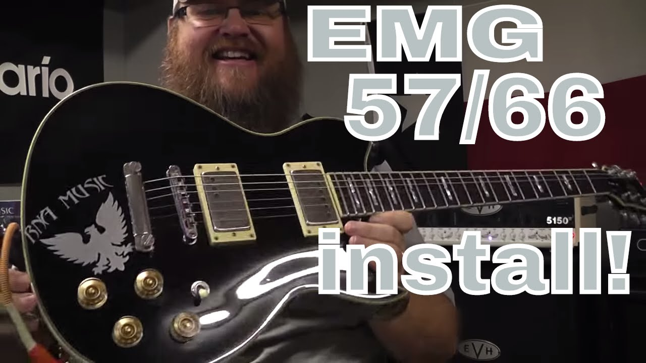 Emg Pickups 57 66 Install Youtube Pickup Wiring Diagram Hz H4