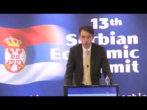 Keynote Speech Saša Radulović - 13th Economic Summit of the Republic of Serbia
