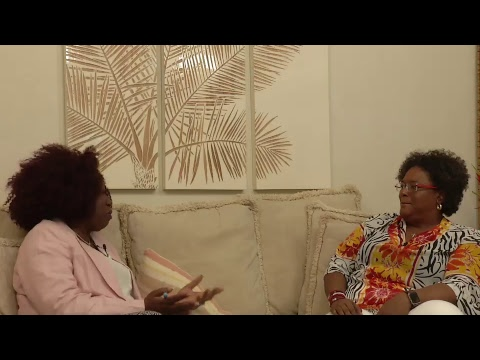 Live Interview with Political Leader Mia Amor Mottley