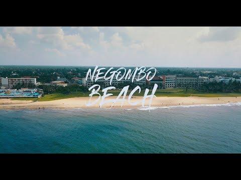 Negombo Beach - Aerial views (Sri Lanka)