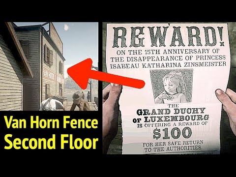Missing Princess Upstairs of Van Horn Fence in Red Dead Redemption 2 (RDR2): Find Princess Isabeau thumbnail