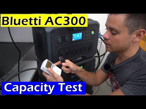 Bluetti AC300 Capacity Test