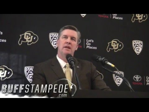 MacIntyre's 2016 signing day press conference