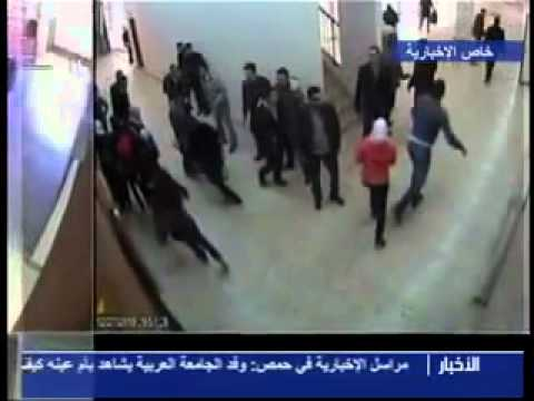 What after the shooting at the University of Damascus 27/12/2011