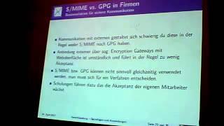 Verschlüsselung Vortrag 19.04.2012