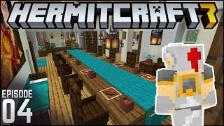 FULL House Interior! | Hermitcraft 7 - Ep. 4