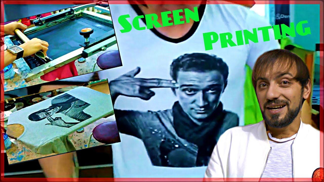 шелкография на футболках бизнес