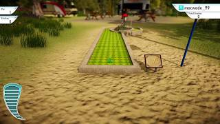 3D Mini Golf PS4: Two Typical Holes