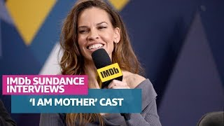 'I Am Mother' Cast and Director Stop By Sundance