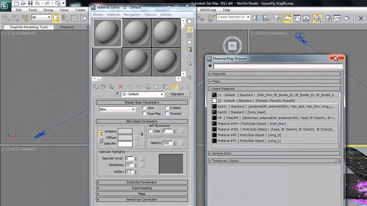 3Dean: Quickly Converting a 3d Model for Rendering w/Vray in 3ds Max 2012