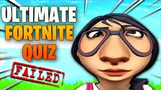 10 FORTNITE questions you WILL get WRONG... 😂 (ULTIMATE FORTNITE QUIZ)