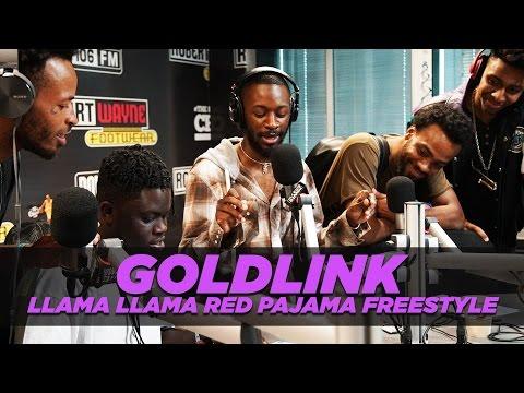 GoldLink Freestyle- Llama Llama Red Pajama