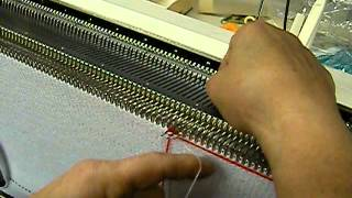 Wrapping An Isolated Fairisle Motif On The Knitting Machine (canada Hat, Part 1) By Carole Wurst