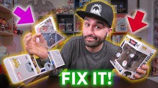 Funk Pop Window Swap Box Repair & Sticker Replacement! (Best Method)