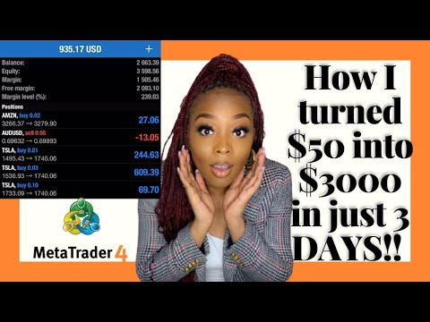 The EASIEST Forex Trading Strategy For Beginners   HOW TO GROW $50 to $3000 in 3 DAYS   Trading 101