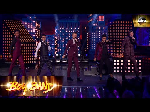 Maxed Performance – Can't Take My Eyes Off Of You   Boy Band
