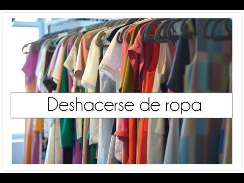 Deshacerse de la ropa que no sirve en el armario youtube - Armarios para ropa ...