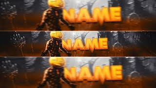 FREE HALLOWEEN FORTNITE BANNER TEMPLATE🎃