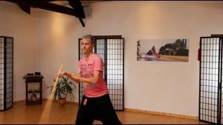 Kung Fu / Tai Chi Stock #1 lernen: Bo Stick Staff online Übung für Anfänger