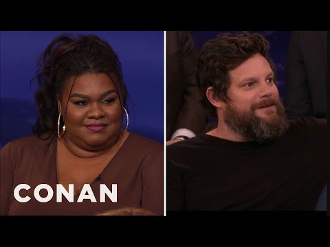 "The ""People Of Earth"" Cast On Shooting Sex Scenes  - CONAN on TBS"