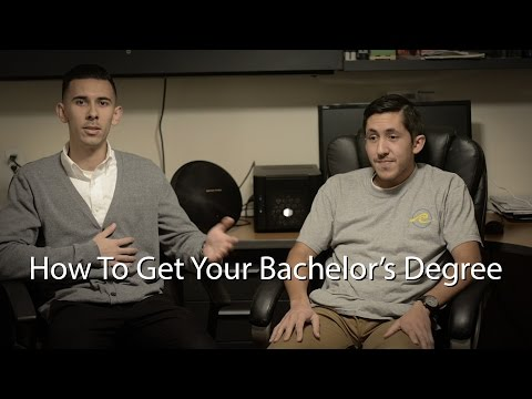 How to Get Your Bachelor's Degree