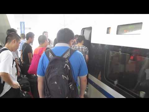 Riding the High Speed Bullet Train From Luoyang to Xian