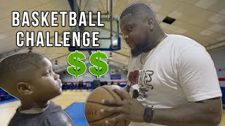 Challenging Shawn to 1 on 1 Basketball for Money $$$ | Ghee Funny