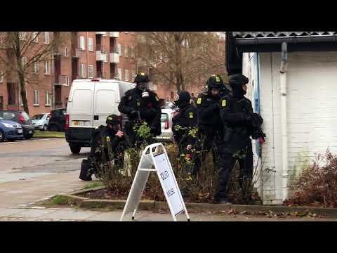 Nordjyllands Politi Øvelse I Aalborg - 6/12/2017