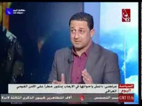 حسين مرتضى - لقاء سياسي استراتيجي على شاشة قناة اسيا الفضائية 13-2-2014