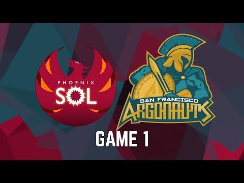 Phoenix Sol vs. San Francisco Argonauts - Game 1