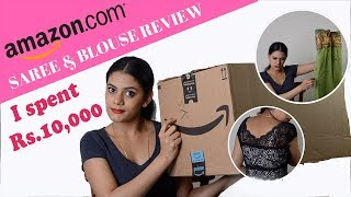 Amazon sarees unboxing and review | with love sindhu