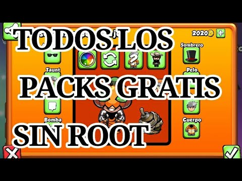 Todos los packs de bomber friends totalmente GRATIS | NO ROOT | 2018