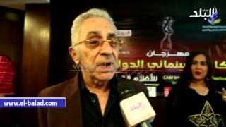 بالفيديو.. علي عبد الخالق لـ'صدى البلد': تكريمي من ' كام' أكد أن عمري لم يضع هباء.. وأعود للسينما بشروط