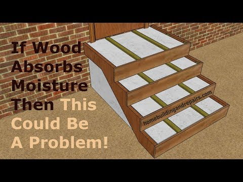 Watch This Video Before Covering Concrete Stairs With Wood – Home Remodeling Ideas